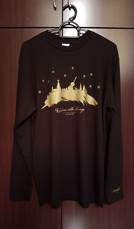 Kalafina with Strings Christmas Premium Live 2016 Long-sleeve shirt black